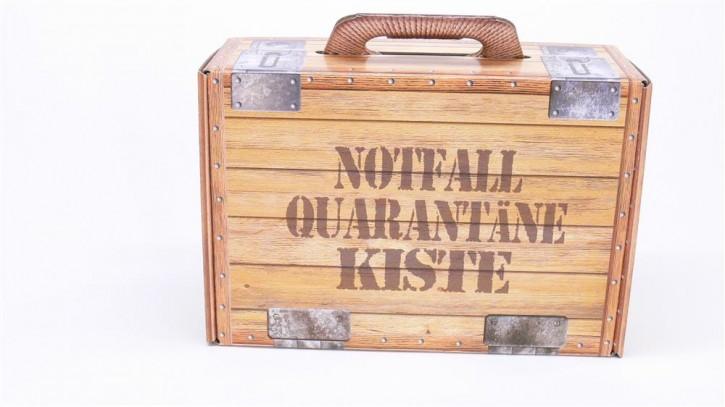Geschenkkiste Notfall Quarantäne-Kiste