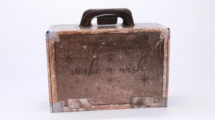 Geschenkkoffer make a wish