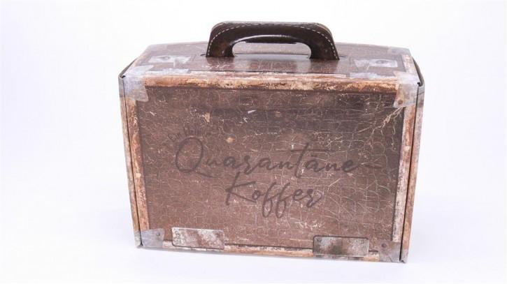 Geschenkkoffer Notfall Quarantäne-Koffer