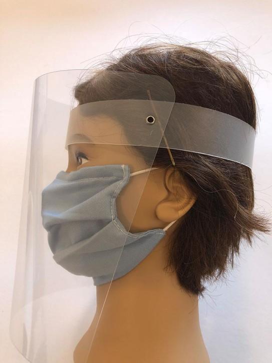 Gesicht-Schutzschild, Visier klappbar