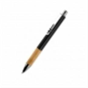 Kugelschreiber mit Holzgriff schwarz